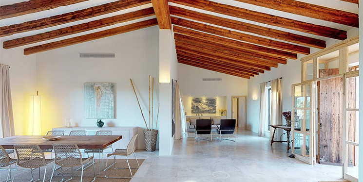 five bedroom villa in the grounds of Son Mas hotel Mallorca